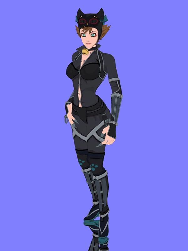 Ij2 Catwoman Ninja By Datkofguy On Deviantart