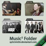 Music Folder 5 ICO