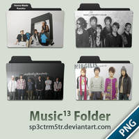 Music Folder 13 PNG by sp3ctrm5tr
