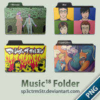 Music Folder 18 PNG by sp3ctrm5tr