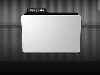Folder Icon Template by sp3ctrm5tr