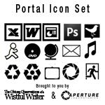 Portal Theme Icon Set by wistfulwriter