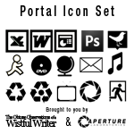 Portal Theme Icon Set by wistfulwriter