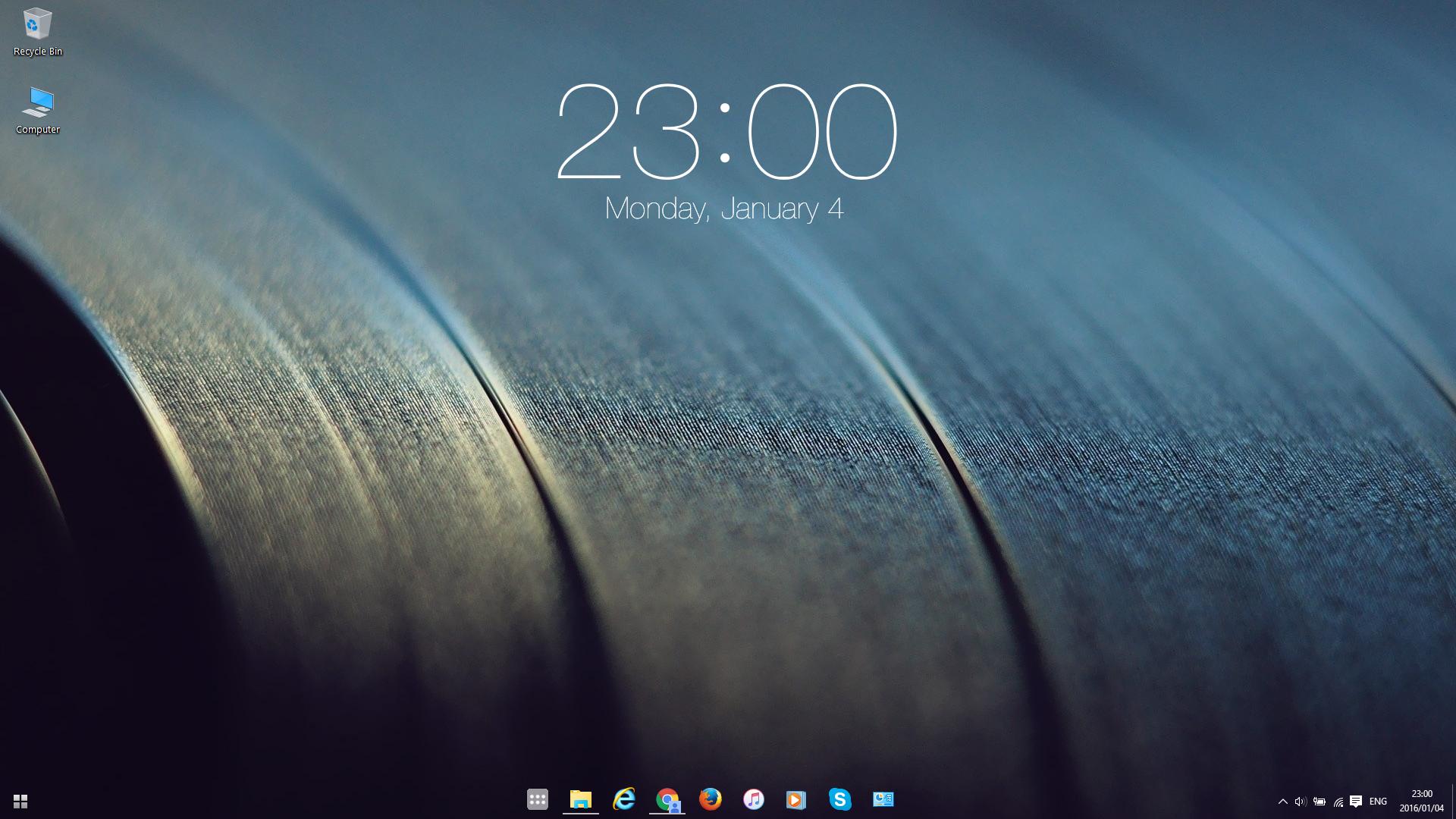 Ios Clock For Rainmeter By Stefanie2983 On Deviantart