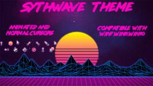 Synthwave Theme (W10-W8-W7) by volo34