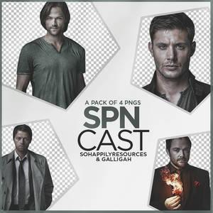Supernatural Cast PNG Pack 003