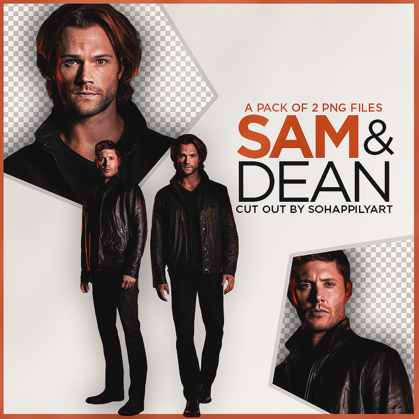Sam and Dean PNG Pack 007