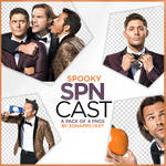 Spooky Supernatural Cast PNG Pack 008