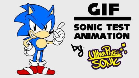 Super Sonic - Test Animation