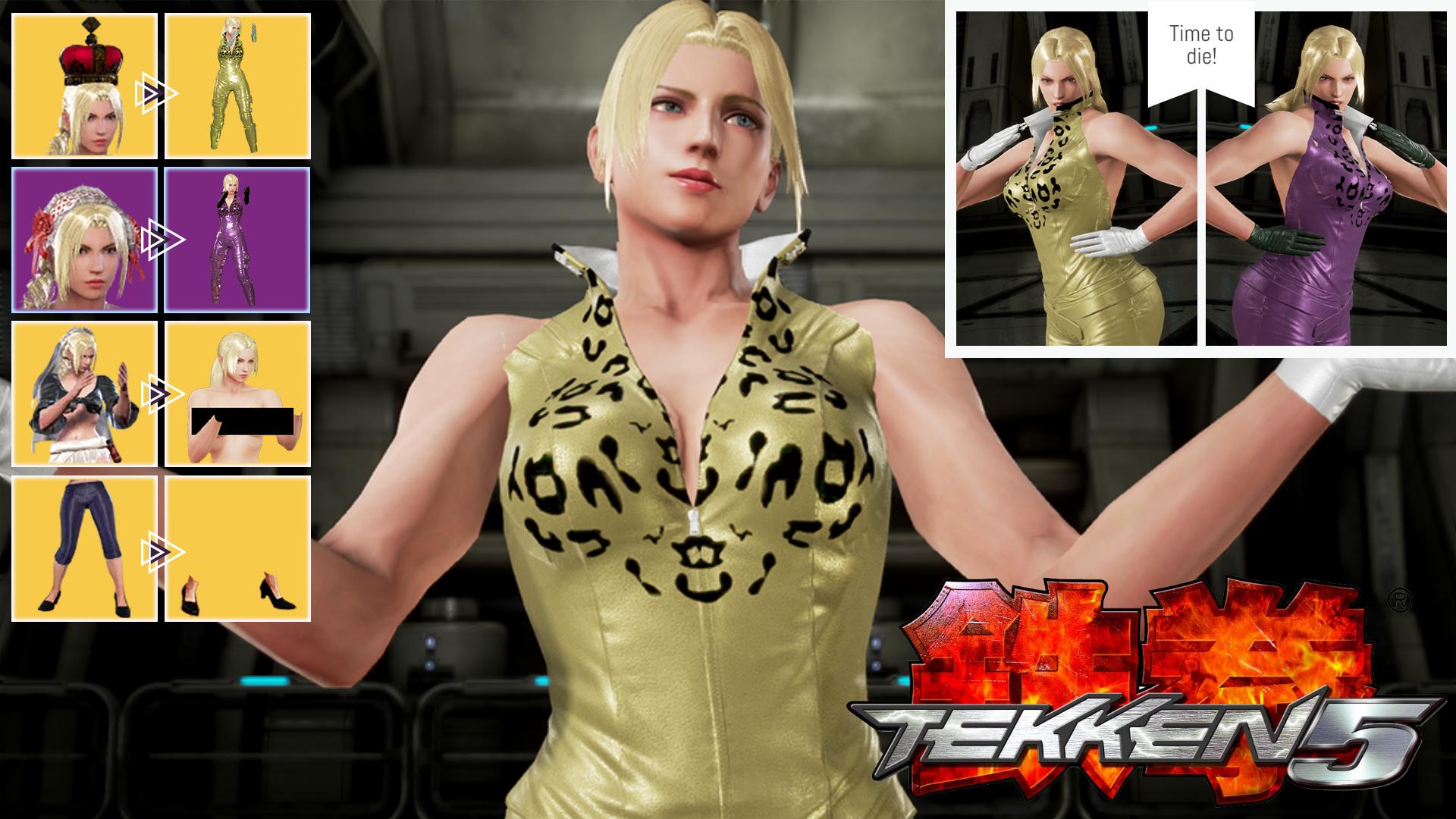Tekken 5 Inspired Nina Williams By Siddiqy On Deviantart