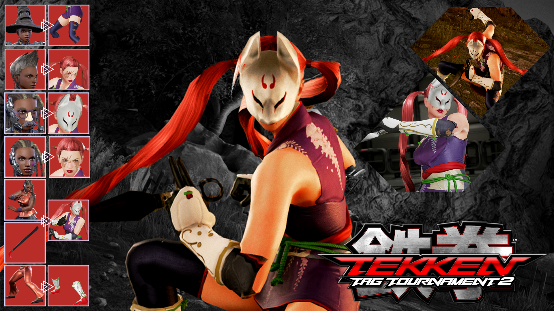 Update Ttt2 Inspired Master Raven As Kunimitsu By Siddiqy On