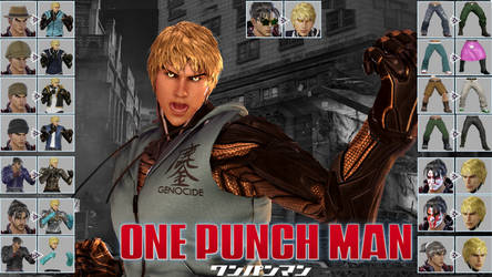 [UPDATE] ONE PUNCH MAN Inspired | Jin as Genos