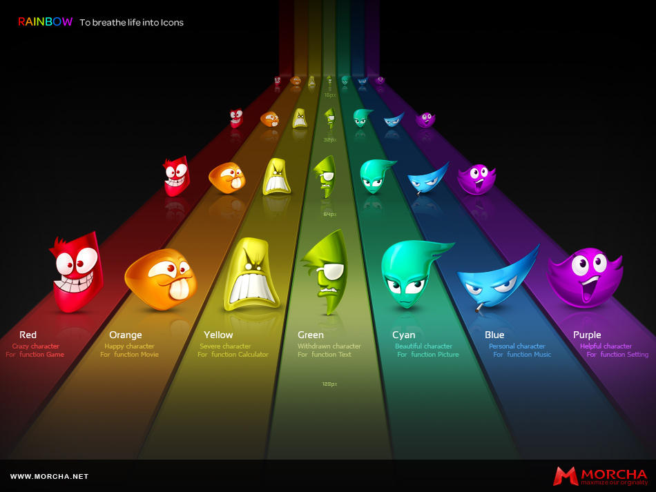 Rainbow by jixi2000