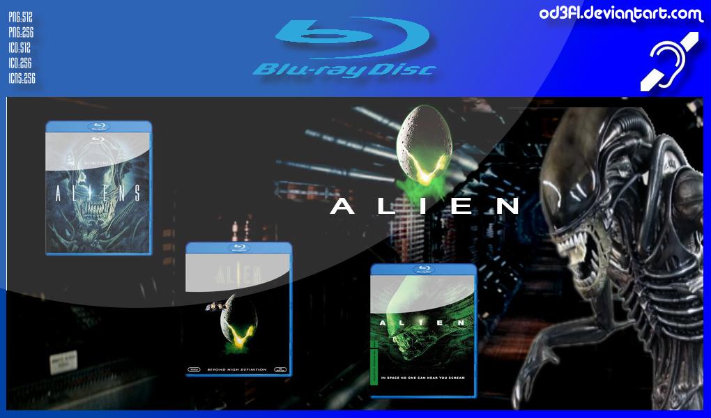 Bluray - 1979 - Alien by od3f1