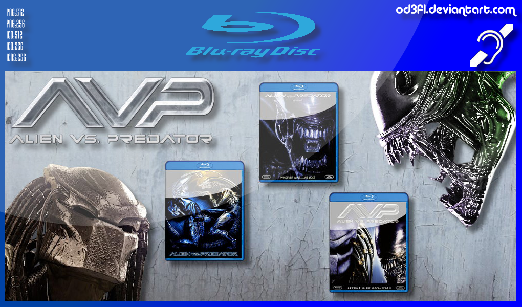 Bluray - 2004 - Alien Vs Predator by od3f1