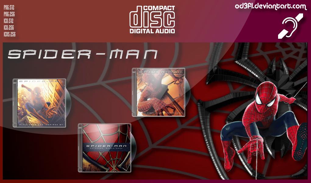 CDs - 2002 - Spider-Man Soundtrack Albums by od3f1 on DeviantArt