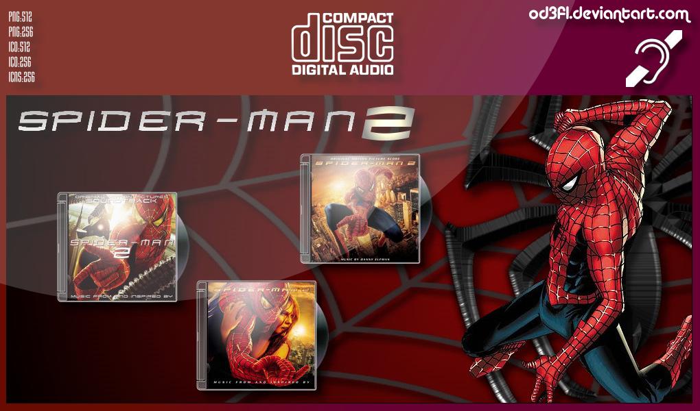CDs - 2004 - Spider-Man 2 Soundtrack Albums by od3f1 on DeviantArt