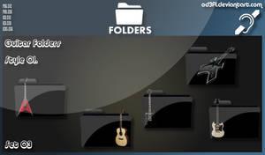 Guitar Folders - Style 01 Set 03