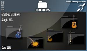 Guitar Folders - Style 01 Set 02