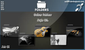 Guitar Folders - Style 03 Set 01