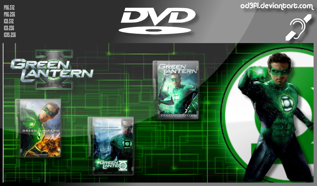 2011 - The Green Lantern by od3f1