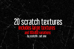 scratched textures by scotchh
