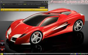 Ferrari Carbon v.2 Theme WinXP