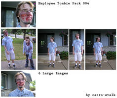 Zombie Employees Pack 003 by carro-stalk