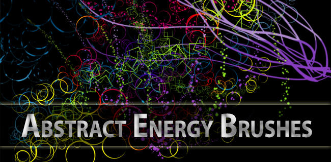 Abstract Energy Brushes by Gabrielle123