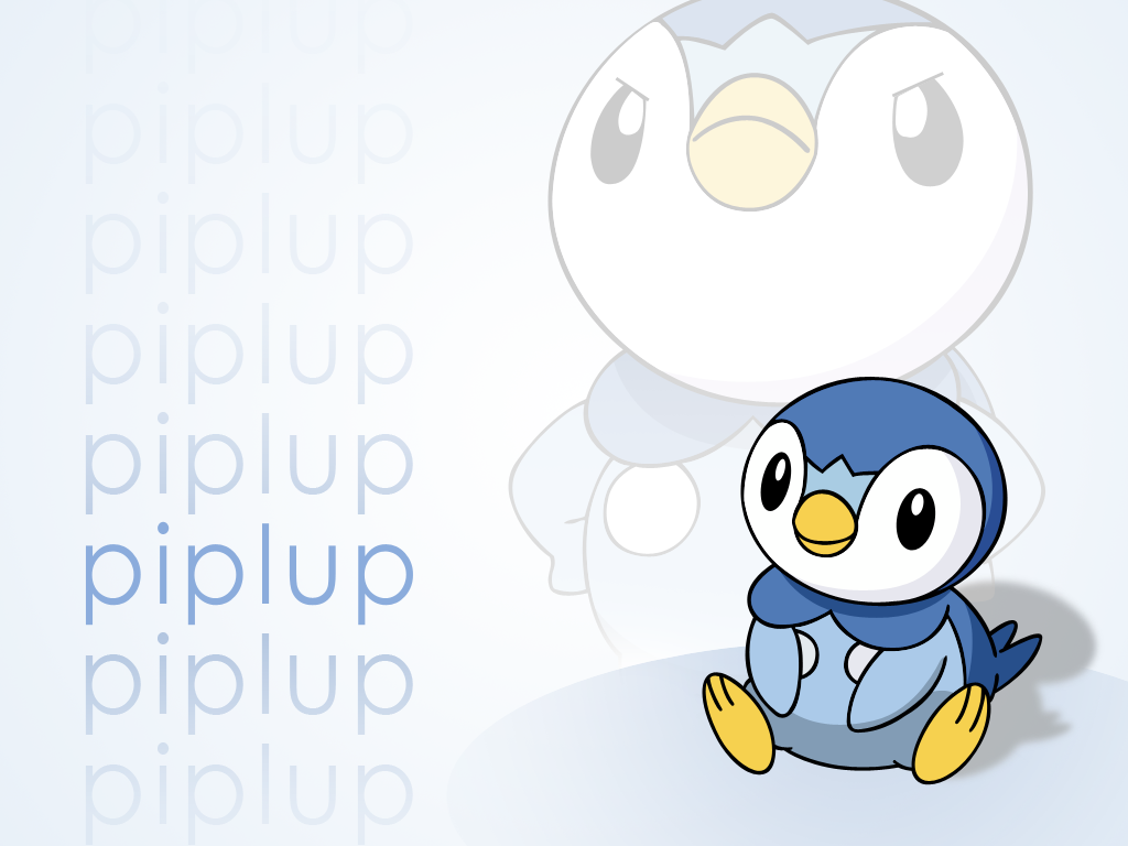 Piplup Vector Wallpaper