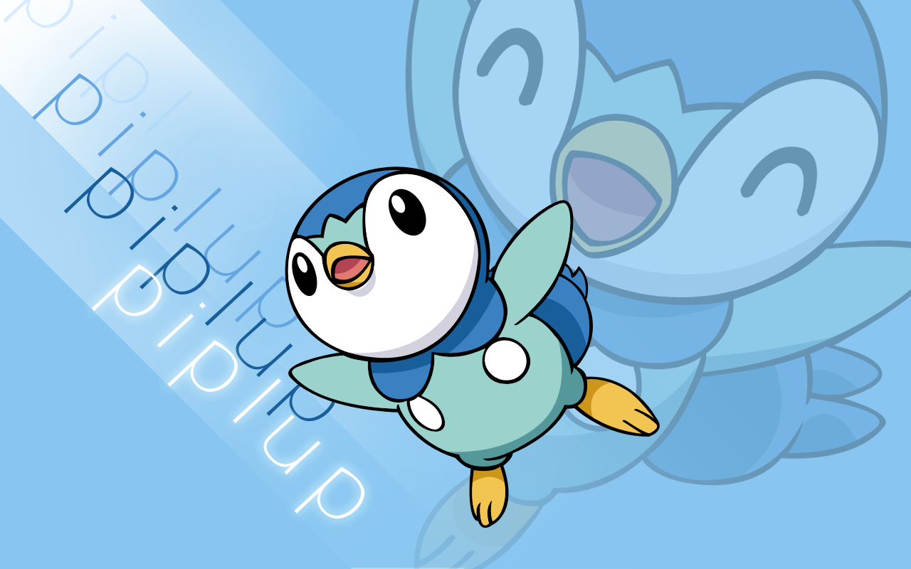 Piplup Vector Wallpaper 2