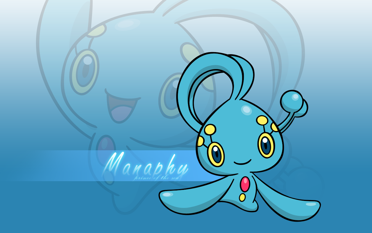 Manaphy Wallpaper