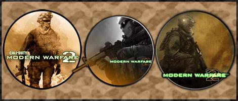 Game Icons - Modern Warfare 2 by sirithlainion
