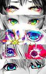 Anime Eyes GIF