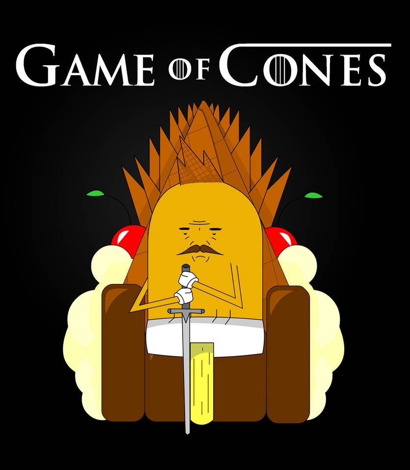 Game Of Cones By Stonedkirby On Deviantart