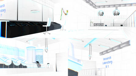 MMD stage DL - White Laboratory chamber