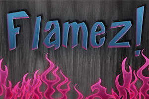 Free Flamez Text Styles by KaixerGroup