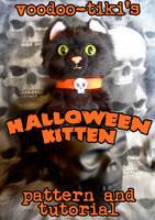 Halloween Kitten Plushie Pattern and  Instructions by Voodoo-Tiki