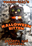 Halloween Kitten Plushie Pattern and  Instructions