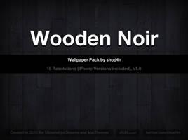 Wooden Noir - Wallpaper Pack by shod4n