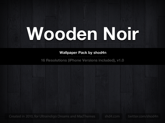 "ipad wallpaper wood. ""Wooden Noir"" (Wallpaper Pack)"