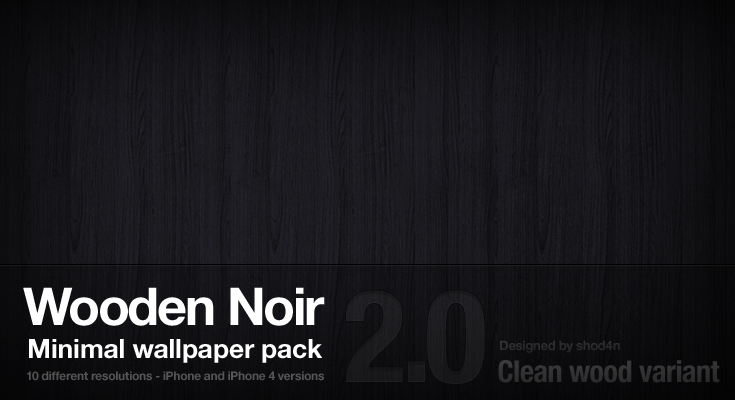 Wooden Noir 2.0 - Clean Wood by shod4n