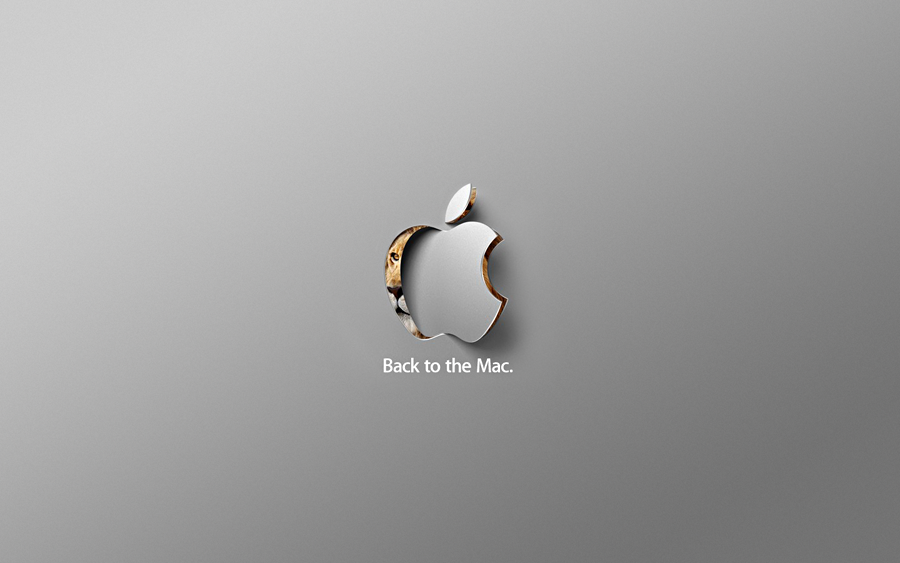 Mac OS X Lion - Back to Mac by shod4n