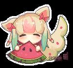 Melon Page Doll