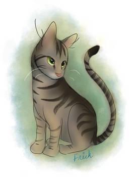 Simple cat doodle