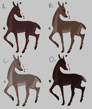 Deer Assassin Color Tests