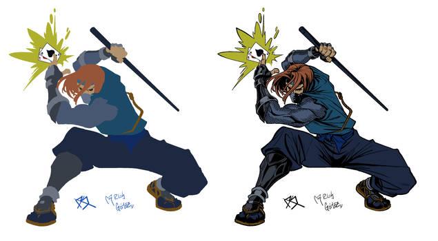 ninja gambit sketch Flats