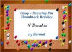 GIMP brushes Thumb Tacks