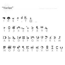 'Vorlon' fontref + resources