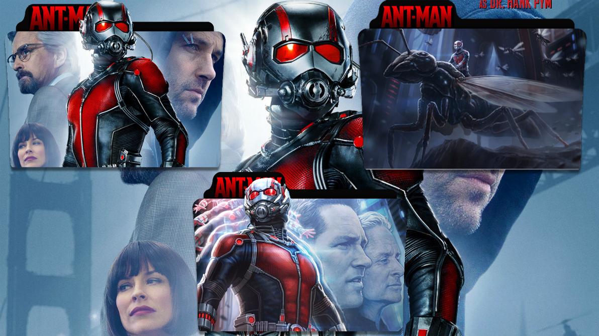 Ant Man Folder Icon by Ahmedelamrosy